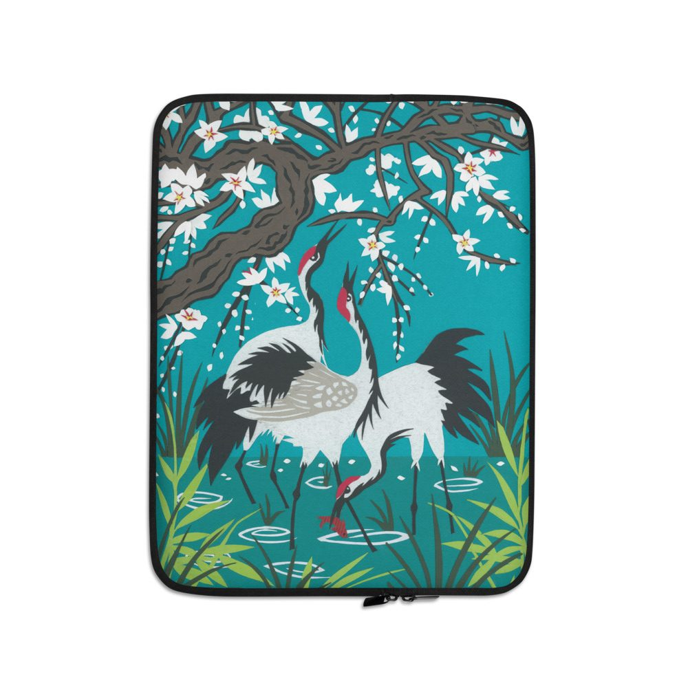 Laptop protection sleeve