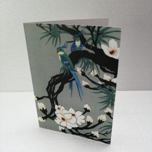 Oriental Birds on Magnolia