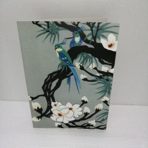 Oriental Birds on Magnolia