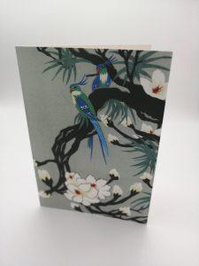 Oriental Bird with Magnolia